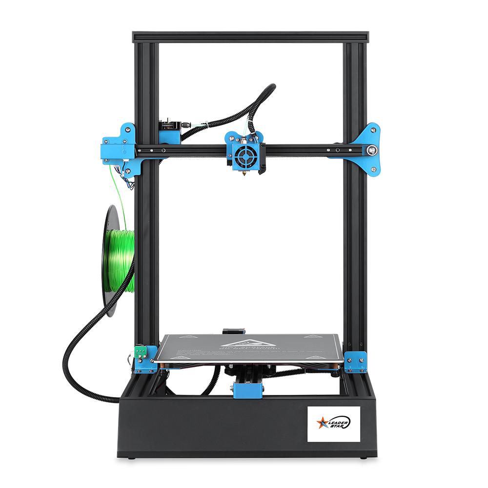 EZT® M18Pro 3D-принтер 300 * 300 * 400 мм Размер отпечатка с 3,5 дюйма Colorful Дисплей Поддержка Обнаружение выхода из нити накала