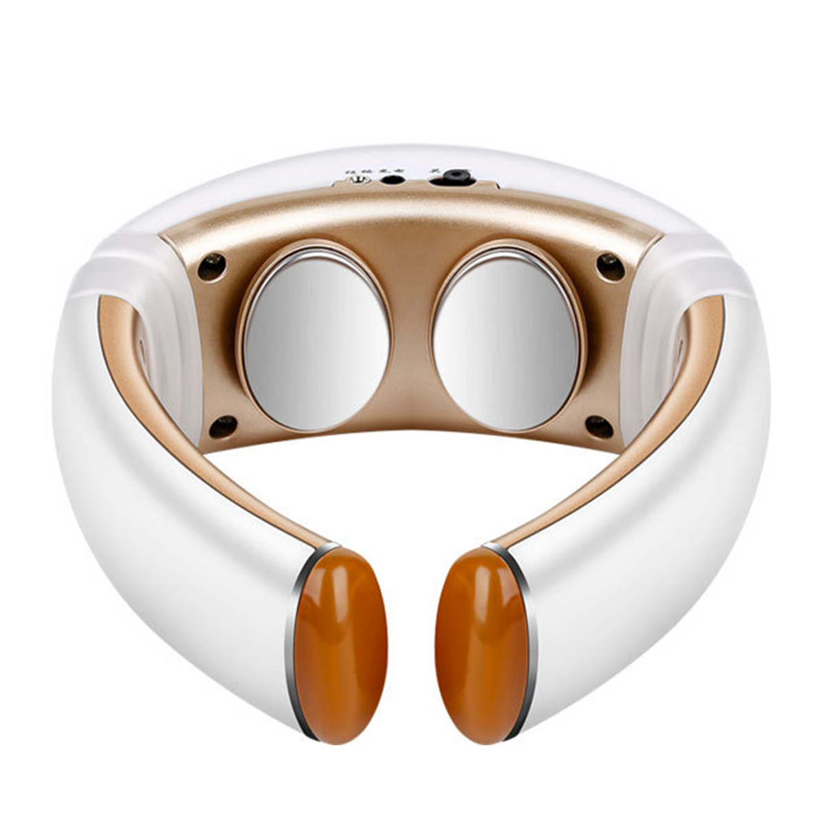 3D Smart Neck Massager Heating Acupuncture Electric Pulse Pain Relief Treatment Therapy Device