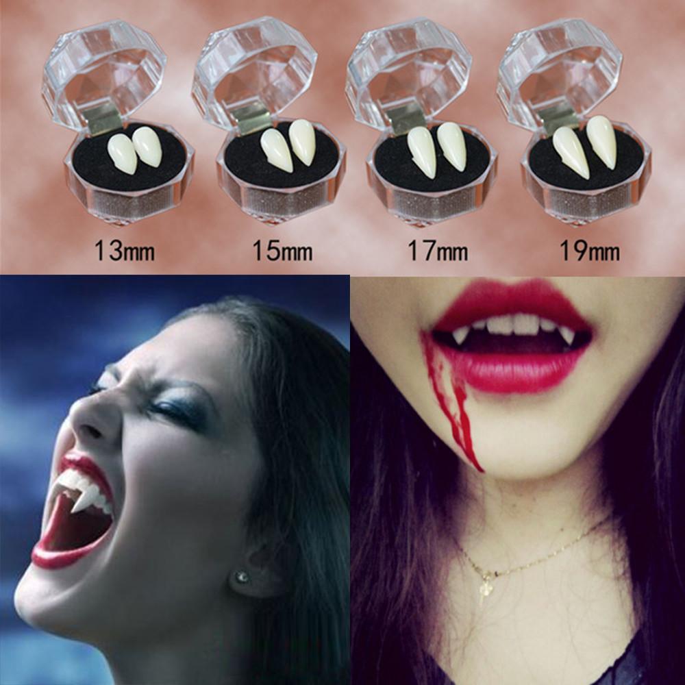 Хэллоуин косплей вампир клык