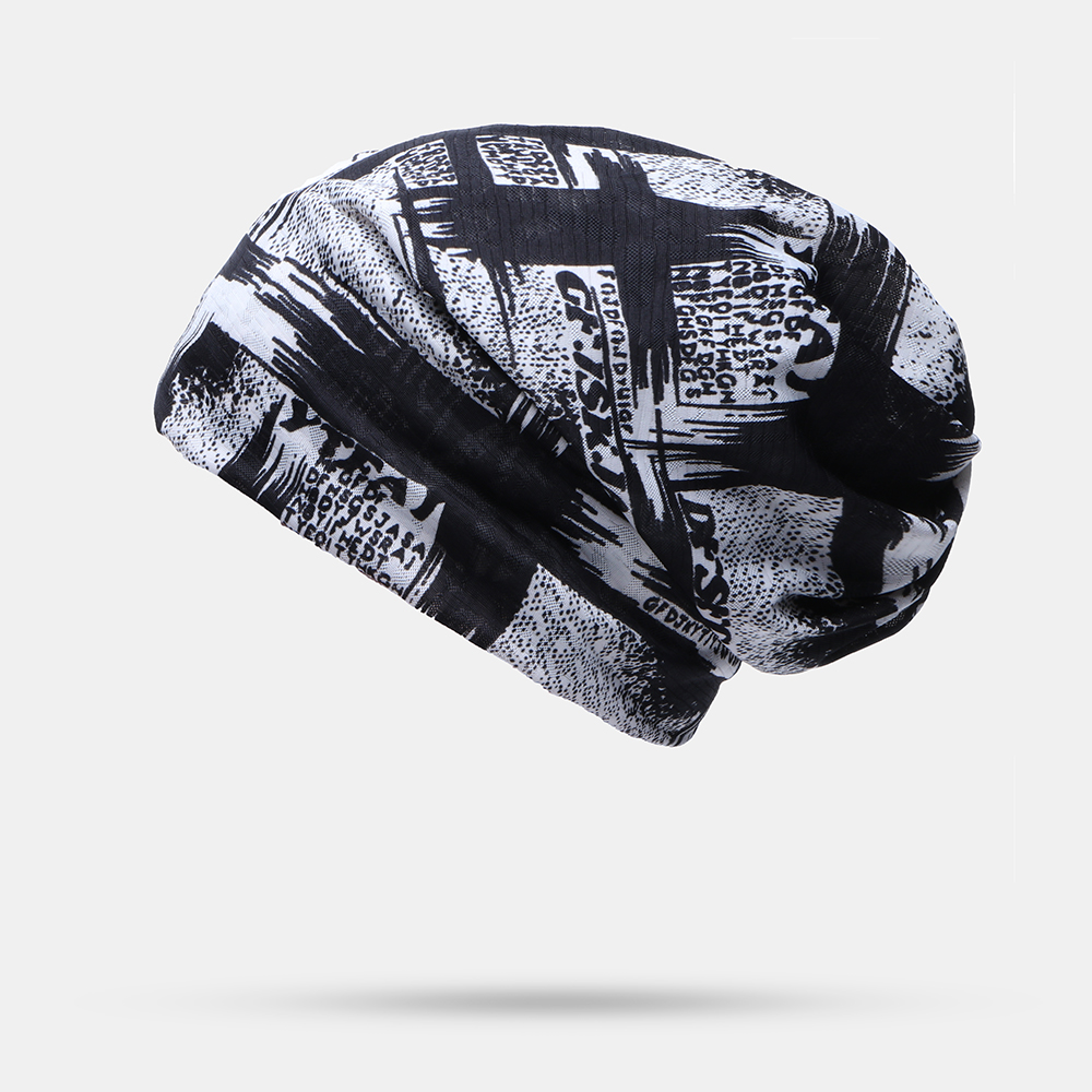 New Thin Lace Breathable Cap Spring Summer Ice Silk Hooded Beanie