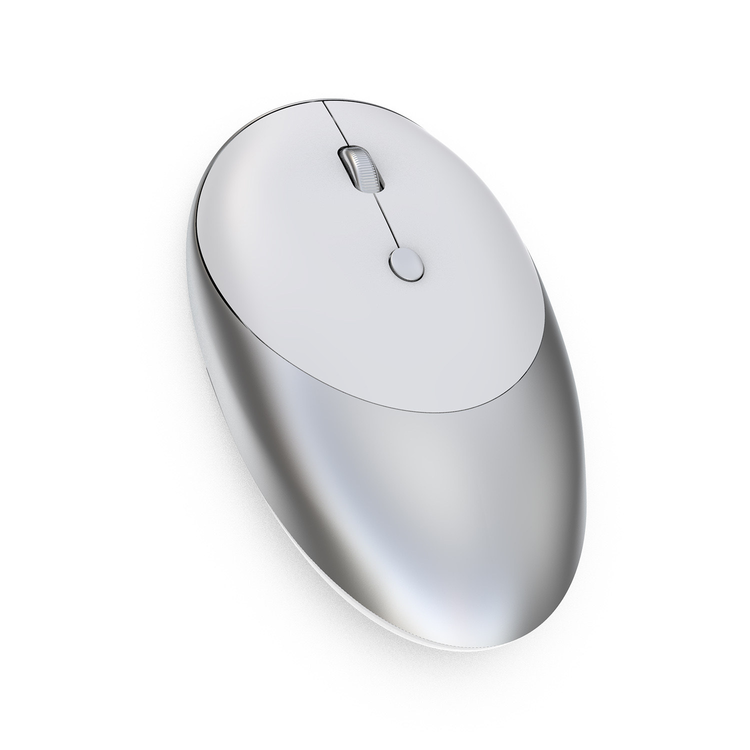 HXSJ T36 1600 DPI 2.4Ghz Wireless+bluetooth 3.0/5.0 2 Buttons Rechargeable Wireless Mouse