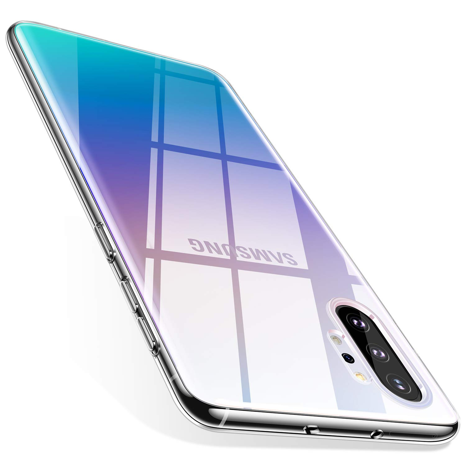 Bakeey Clear Soft ТПУ Защитный Чехол Для Samsung Galaxy Note 10 + / Note 10 Plus / Note 10+ 5G