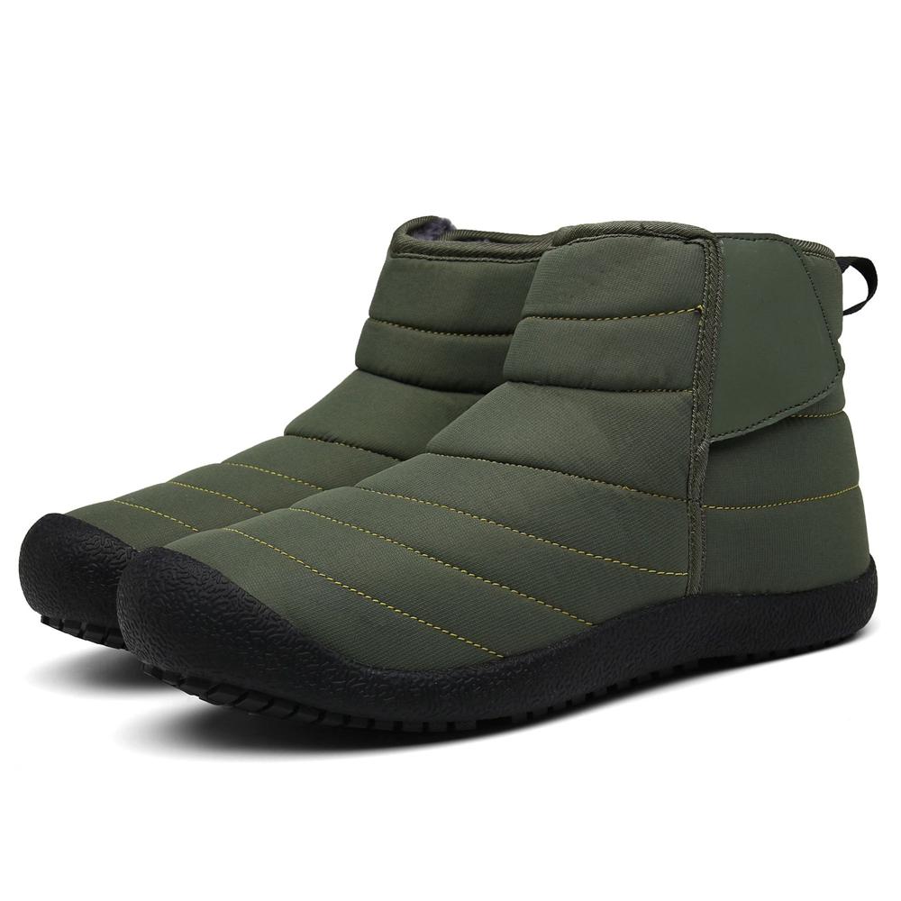 Мужская водостойкая плюшевая подкладка Теплый снег Ботинки