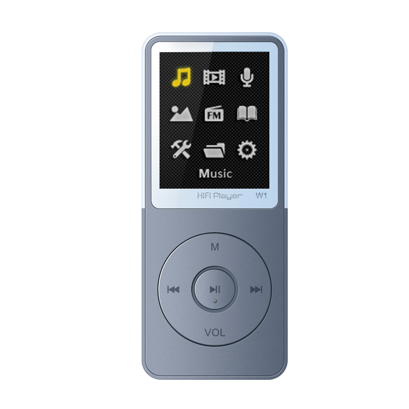 IQQ W1 8GB Lossless MP3 Music Player with Speaker FM Support Ebooks Record