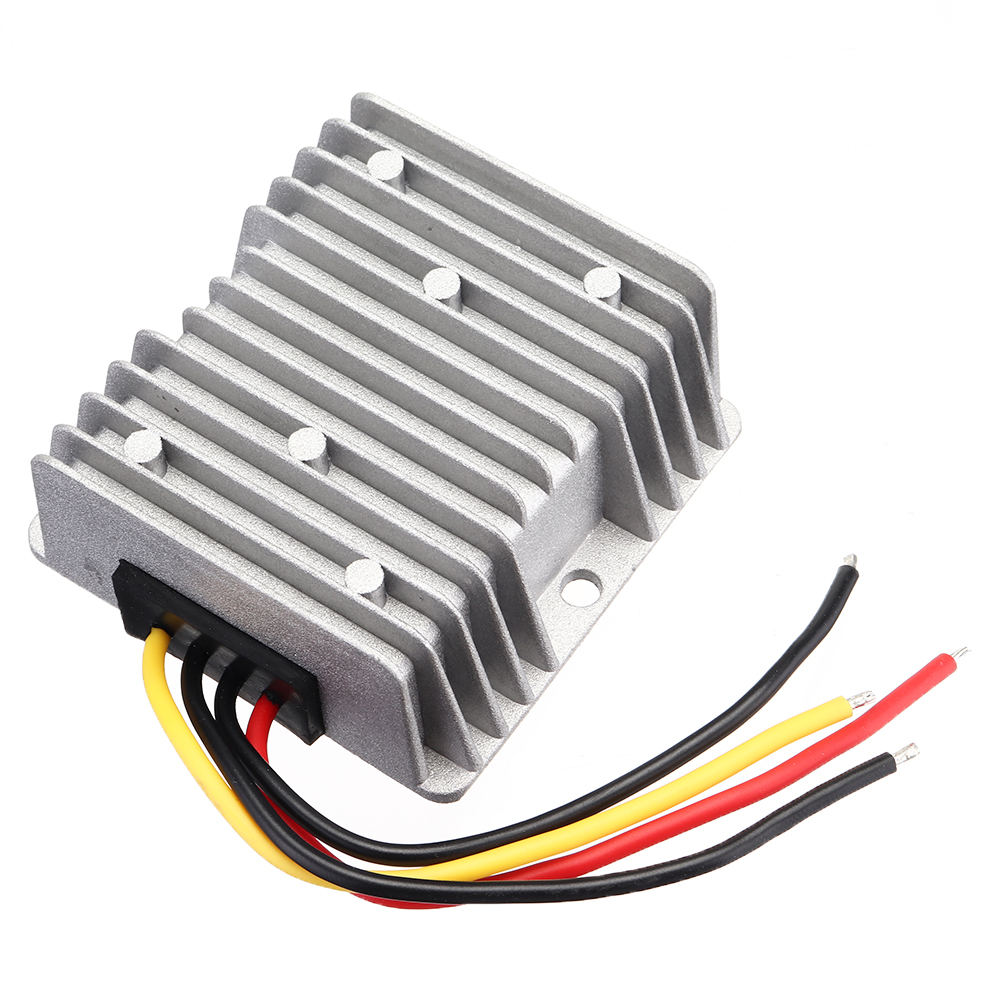 Waterproof 18-36V To 24V DC Buck Power Converter 10A Multiple Protection Step Down Module Voltage Adapter for Car Alarms LED Car Display