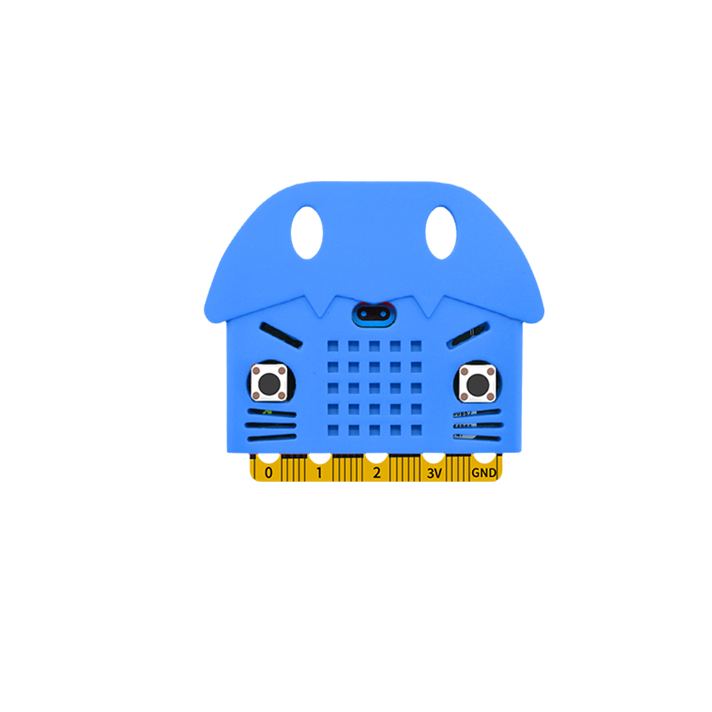 Silicone Protective Enclosure Cover Shell For micro:bit Motherboard Type C  Cat Model