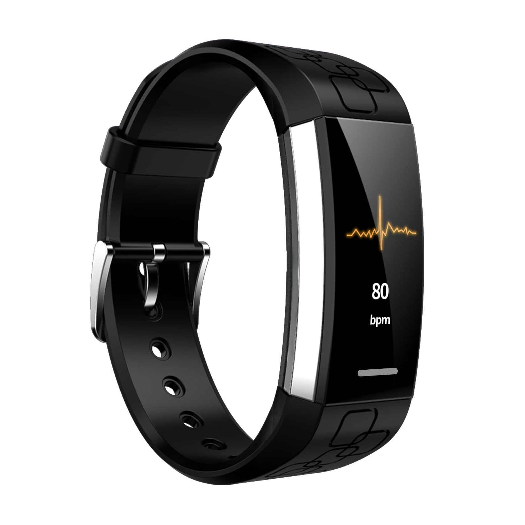 Bakeey MJ02 Real-time ECG+PPG Heart Rate Detection Call Vibration Reminder Weather Smart Watch Band