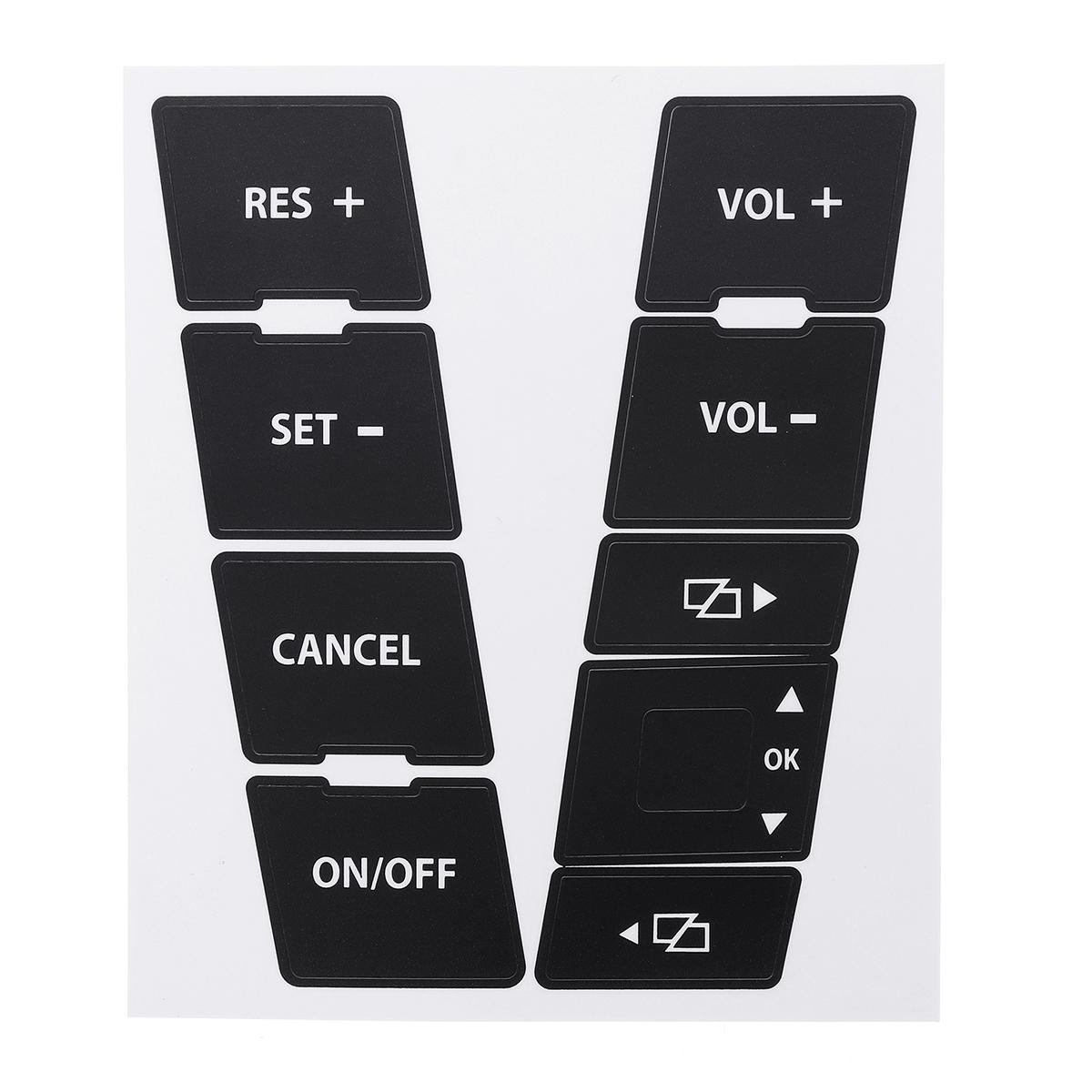 Audi A6 4B 01-05 CLIMATE TEMPERATURE CONTROL peeling worn buttons button repair