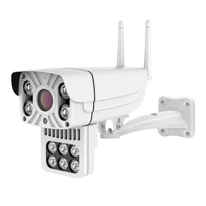 Bakeey 1080P 10 LED IP66 Outdoor Smart IP Camera Full Color Night Vision Motion Tracking IP66 Two-way Audio Dome Outdoor Monitor CCTV