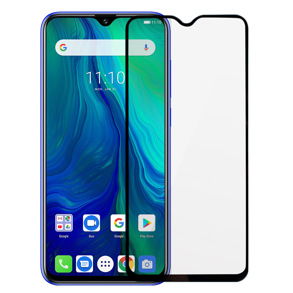 BAKEEY Anti-Explosion Full Cover Full Gule Tempered Glass Screen Protector for Ulefone Power 6