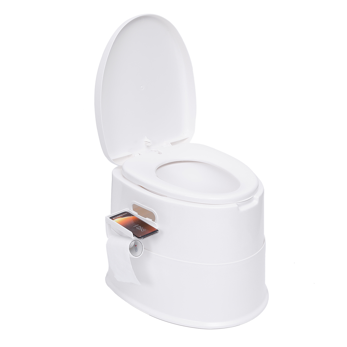 Portable Toilet Bowl Extra Strong Durable Support Adult Senior 2