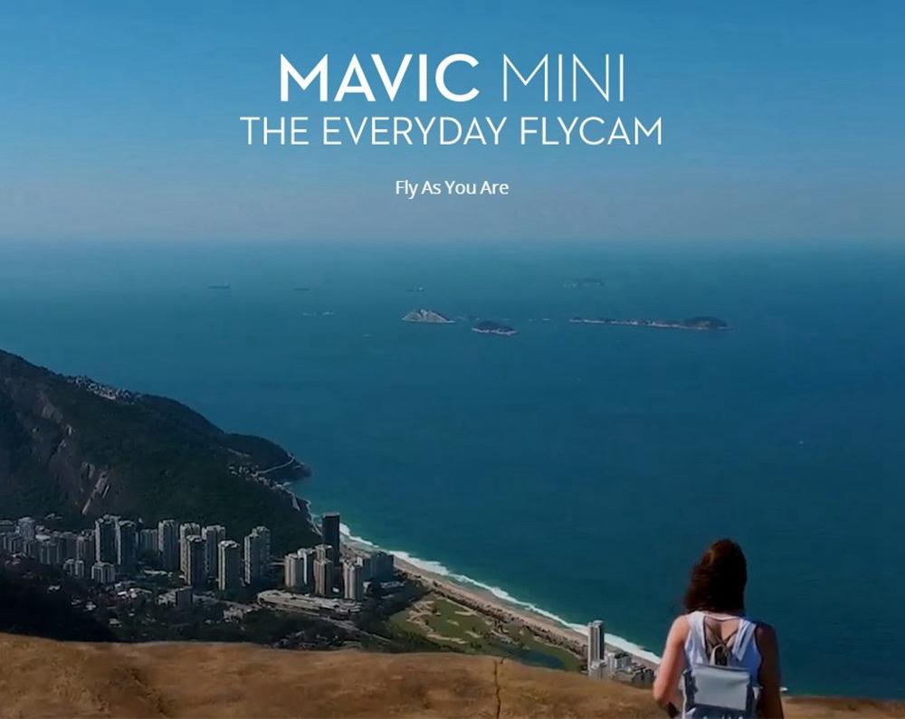 DJI Mavic Mini 4KM FPV with 2.7K Camera 3-Axis Gimbal 30mins Flight Time 249g Ultralight GPS RC Drone Quadcopter RTF 11