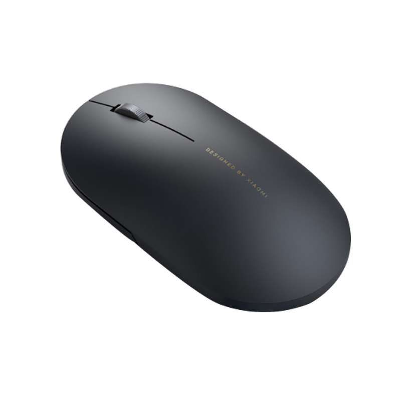 XIAOMI 2.4GHz Wireless 1000DPI Portable Streamlined Shape Mouse for PC Computer Flat Laptops – Black