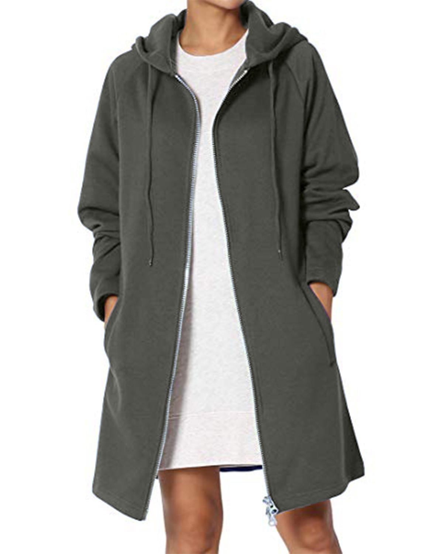 Женские повседневные свободные кофты теплые пальто фото