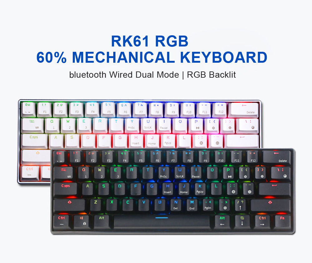 Royal Kludge RK61 Programmable Mechanical Keyboard 2