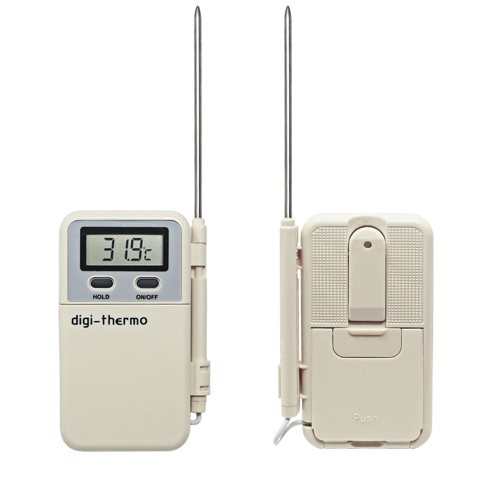 -50C~300C Digital Thermometer with Stainless Steel Probe Kitchen Food Meat Temperature Meter for Grill Oven
