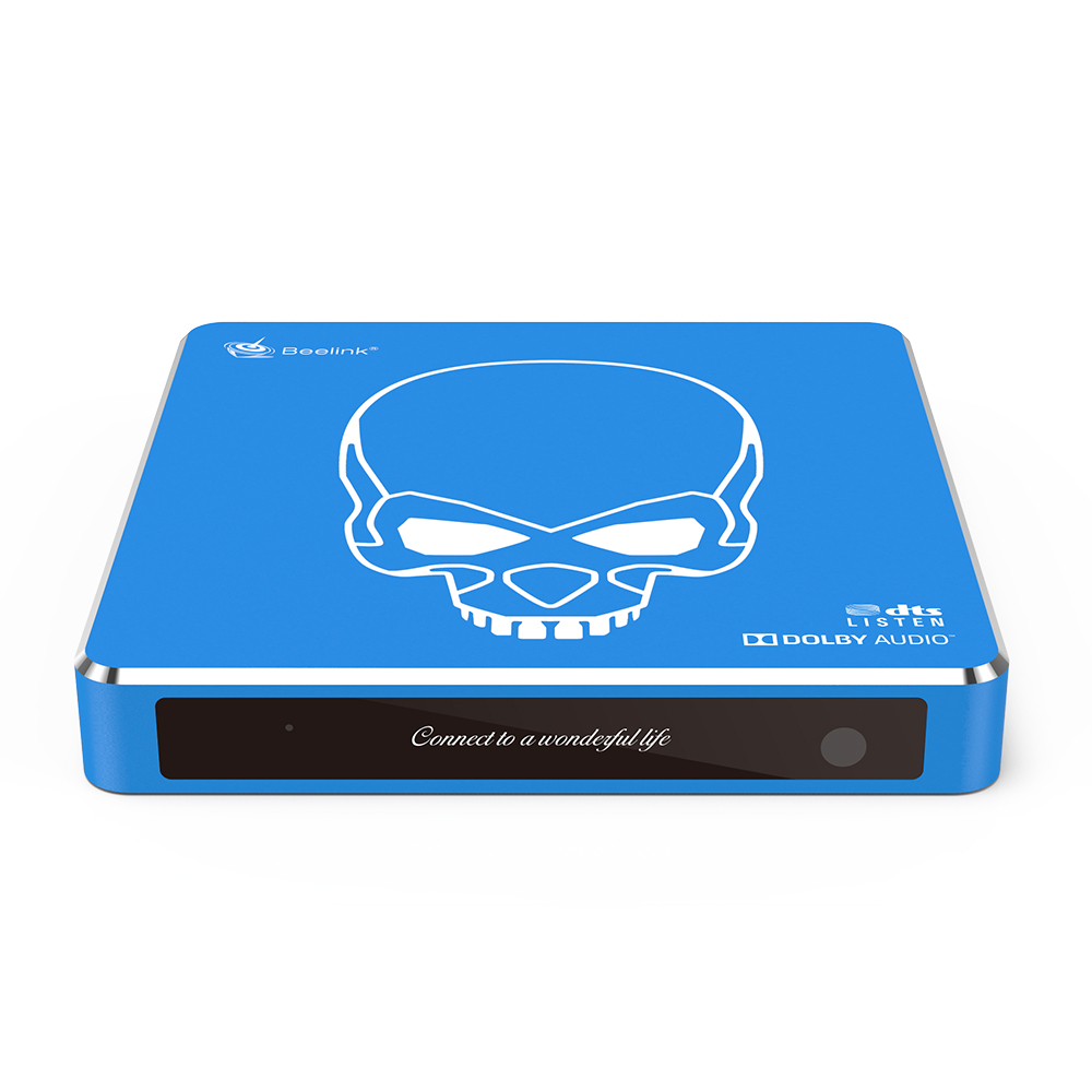 Beelink GT-King Pro S922X-H 4GB DDR4 64GB 5G WIFI 1000M LAN bluetooth 4.1 Android 9.0 Voice Control TV Box