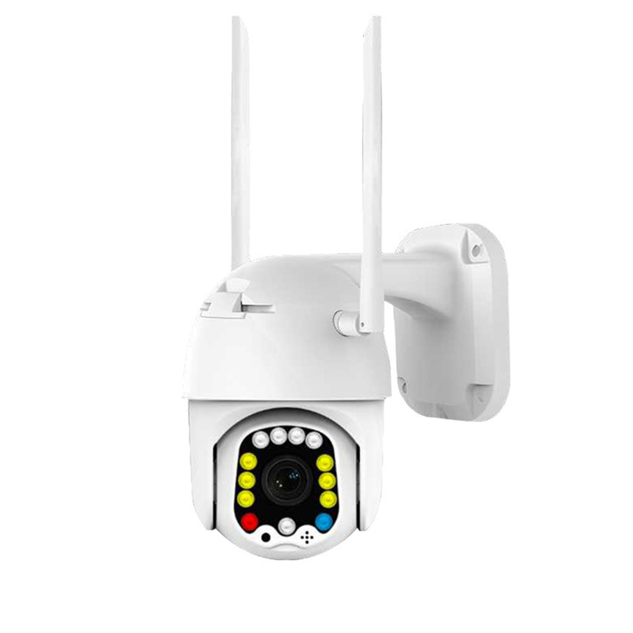 Bakeey 13 LED 1080P Full Color Night Vision PTZ 2MP Outdoor Smart WIFI IP Camera IP66 Waterproof Movement Detection Alarm Two-way Audio Dome Monitor
