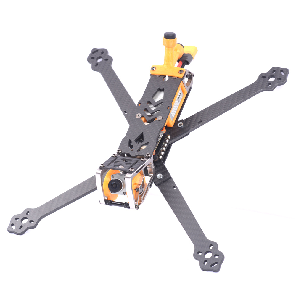 Skystars G730L HD 300mm Wheelbase 5mm Arm Thickness Carbon Fiber 7 Inch Frame Kit Compatible with DJI Air Unit For FPV RC Drone