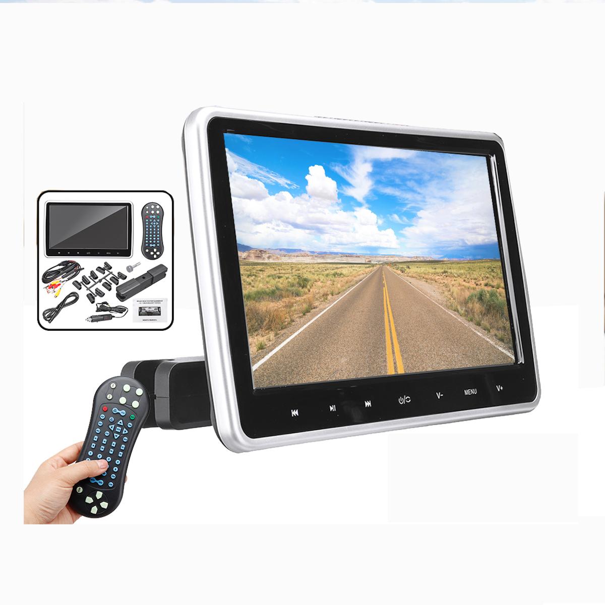 10.1 дюймов Авто DVD-плеер с HDMI Дисплей Сенсорная кнопка Подголовник FM