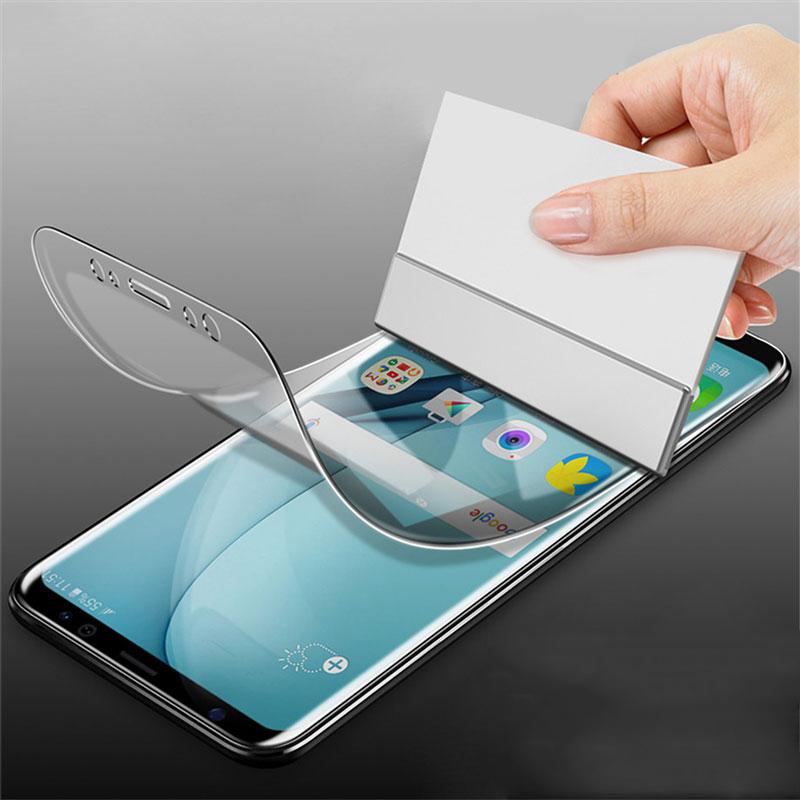 Bakeey 3D Изогнутый Край Гидрогель Отпечатков Пальцев Протектор Экрана Для Samsung Galaxy S9 Plus