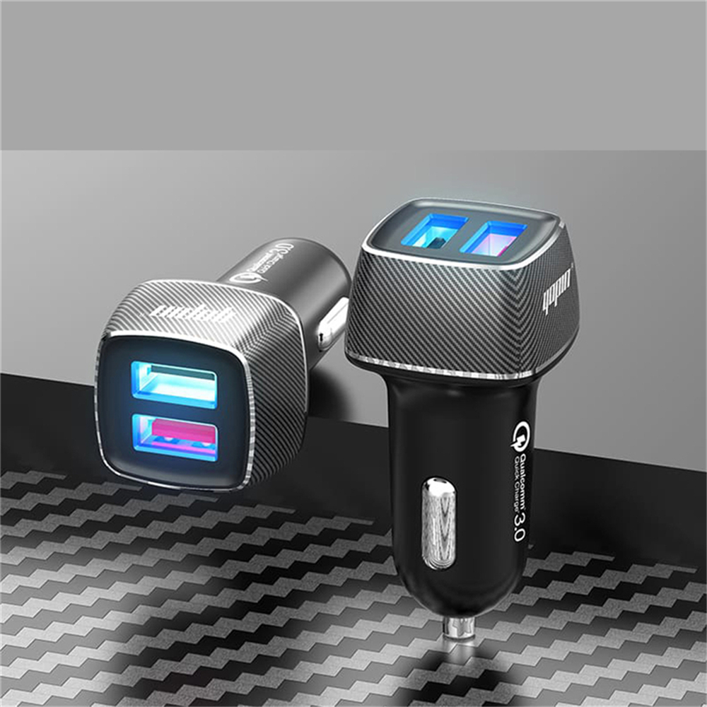 YOPIN 6A Trickle QC3.0 Fast Charging Mini Protocol 12-24V Car Charger For iPhone 8Plus 11Pro Huawei P30 Pro Mate 30 5G Xiaomi Mi9 9Pro 5G