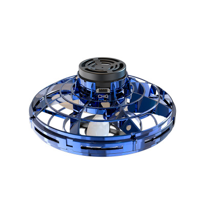 FlyNova UFO Helicopter Anti-collision Flying Globe Mini Drone LED Fingertip Gyro Interactive Boomerang Decompression Toys Kid's Gift