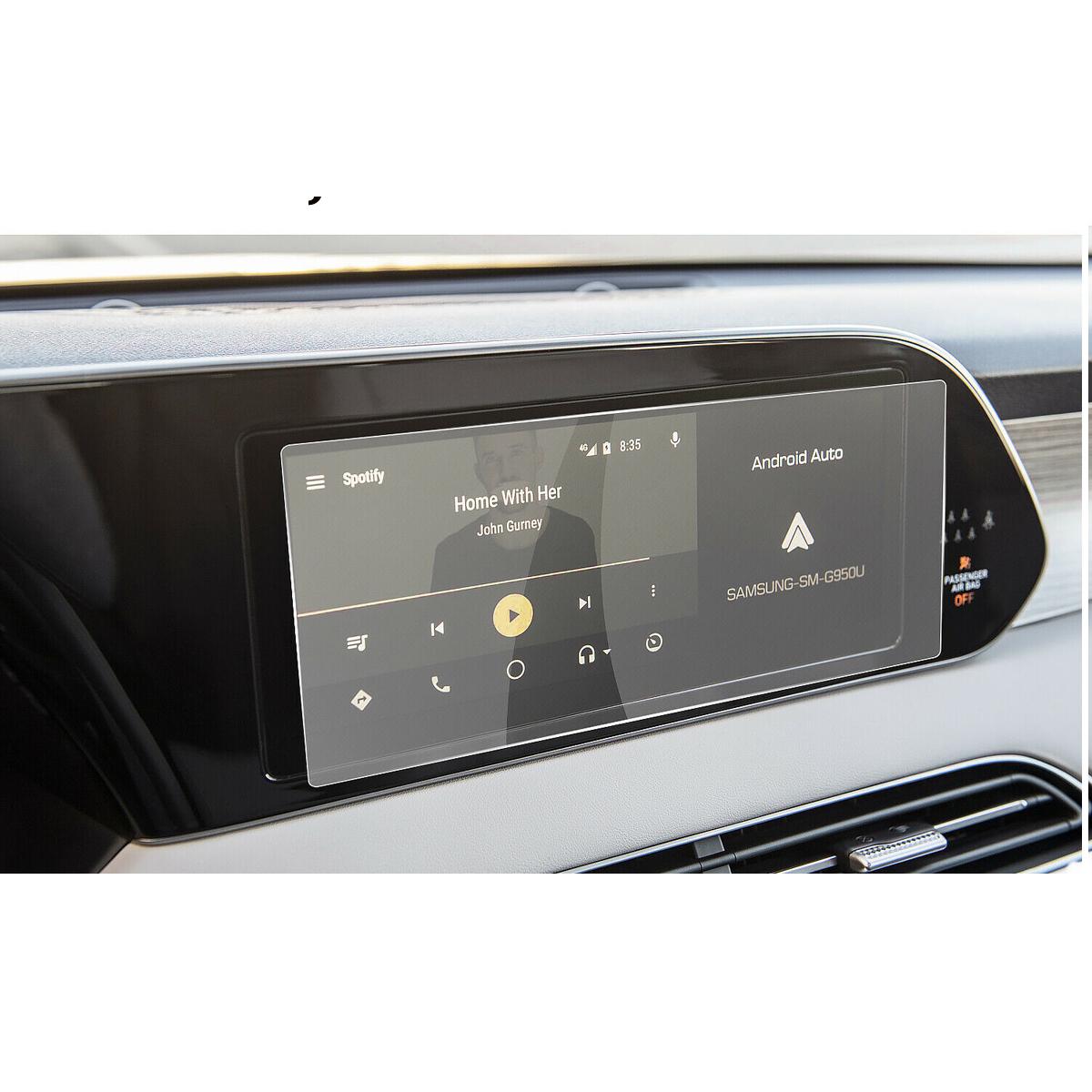 Автомобиль GPS навигация Закаленное стекло-экран протектор для Hyundai Palisade 2020