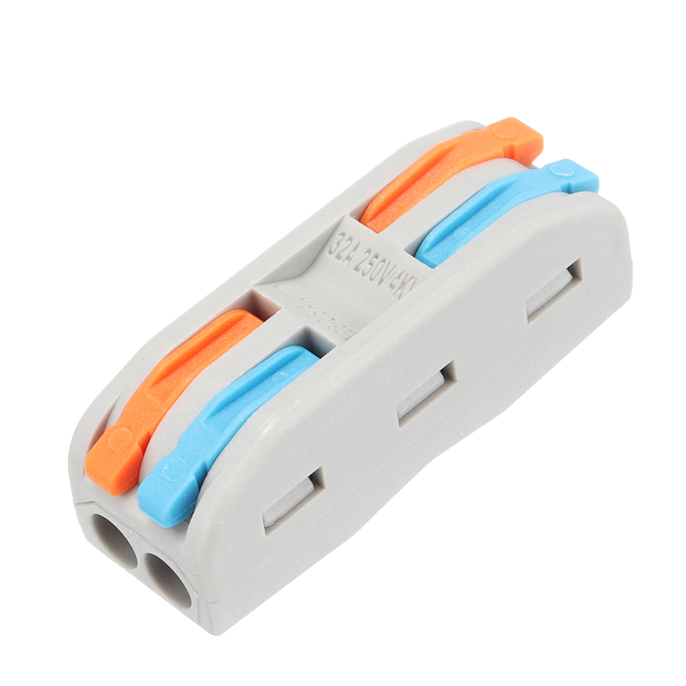 PCT-2 2Pin Colorful Docking Connector Electrical Connectors Wire Terminal Block Universal Electrical Wire Connector