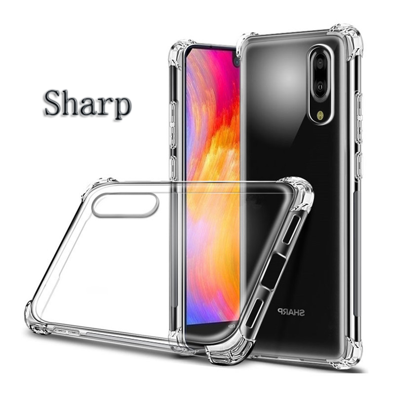 Bakeey Shockproof Soft TPU Protective Case For SHARP AQUOS S2(C10)