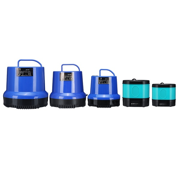 15/25/40/60/90/105W 360° Submersible Bottom Sunction Water Pump Prevent Dry Burning