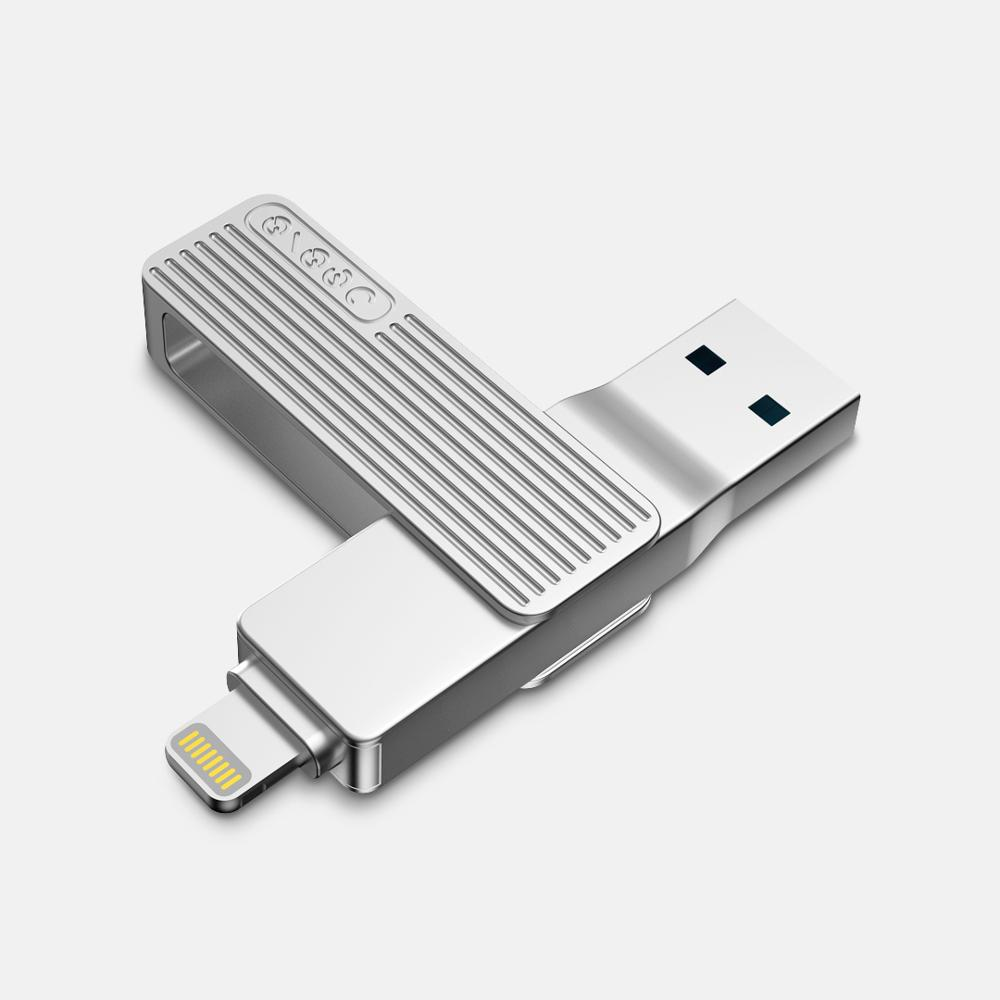 Jesis 2-in-1 Lightning USB 3.1 Interface High Speed Flash Drive U Disk with MFI For iOS Devices iPhone 11 iPad Pro Laptop MacBook from Xiaomi youpin