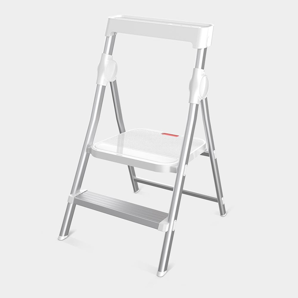 Stupendous Solid Aluminium Home Multi Function Folding Ladder Chair Indoor Climbing Ladder Two Step Ladder From Xiaomi Youpin Pdpeps Interior Chair Design Pdpepsorg