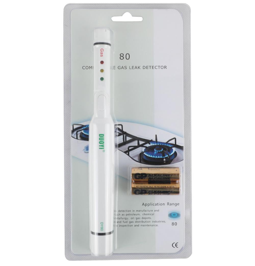 DUOYI DY80 Portable Gas Leak Detector Combustible LPG Natural Gas Detector Butane Propane Methane Flammable Gas Analyzer Alarm