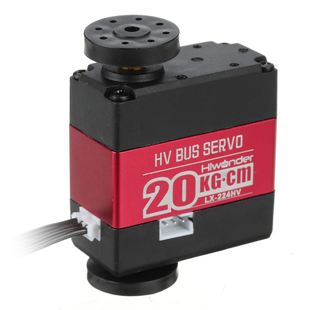 LOBOT LX-224HV 20KG Metal Gear 3-Interfaces Data Feedback Series Bus Servo For RC Robot