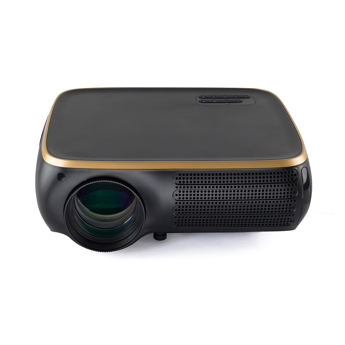 Poner Saund HTP M8 LCD Projector 950 Lumens 1920X1080dpi 1080P 4K HD 3D LED Projector 8G Support for Linux System Standa