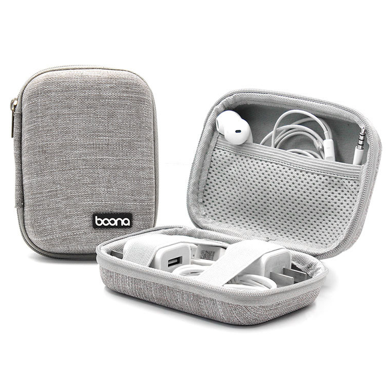 Boona Digital Accessories Storage Bag USB Cable Charger U Disk Earphone Memory Card Organizer Bag
