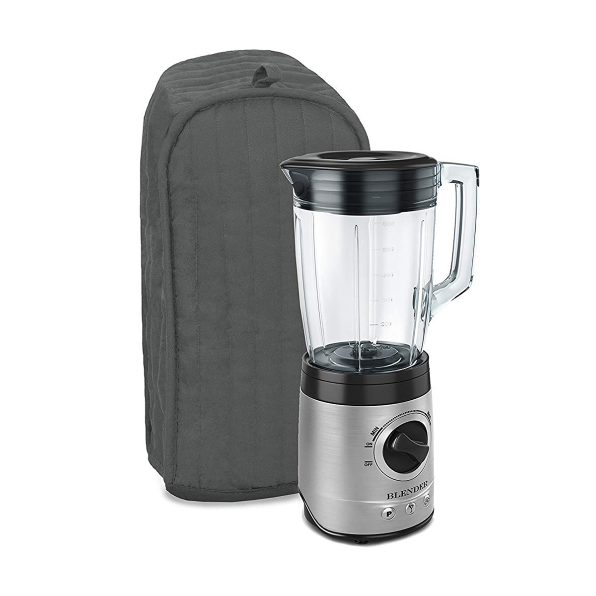 Quilted Polyester Kitchen Blender Appliance Cover Dust-proof Protection