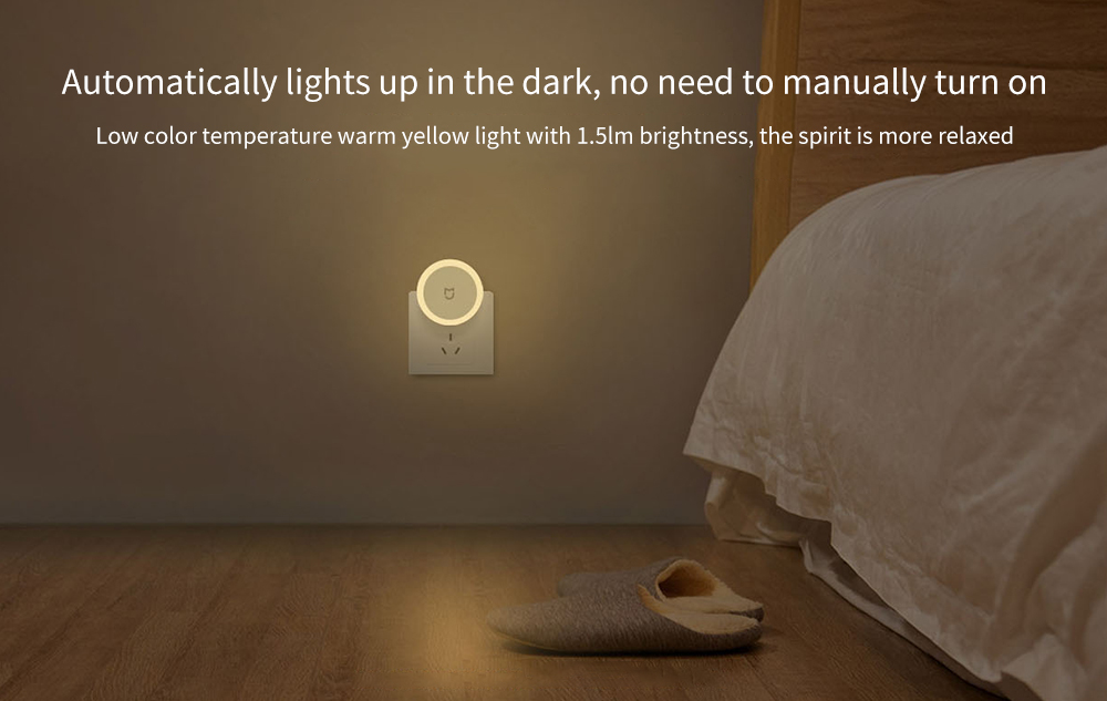 Xiaomi Mijia Led Induction Night Light Lamp Automatic Lighting Touch Switch Low Energy Consumption