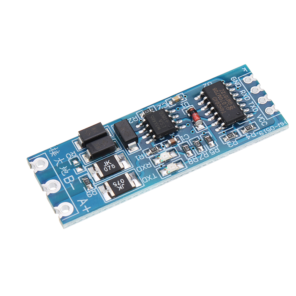 5pcs TTL to RS485 Module Hardware Automatic Flow Control Module Serial UART Level Mutual Converter Power Supply Module 3.3V 5V