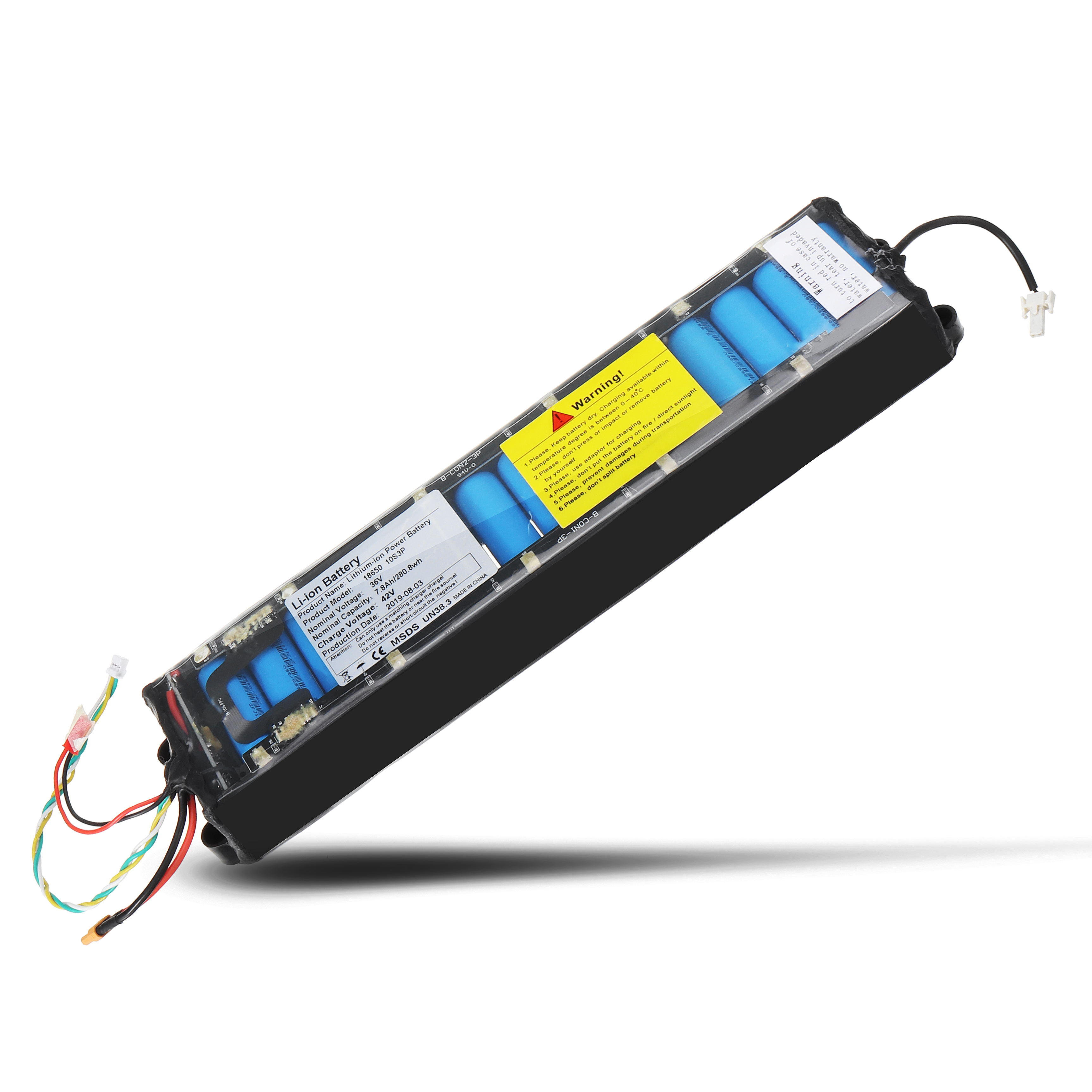 36V 7.8AH Rechargeable Replacement Battery For Original Xiaomi Mijia M365 / PRO Electric Scooter