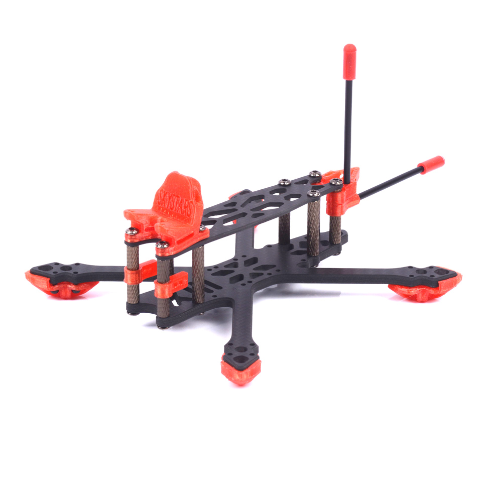 Skystars StarLord X3 Spare Part 145mm Wheelbase 4mm Arm 3K Carbon Fiber Frame Kit for RC Drone FPV Racing