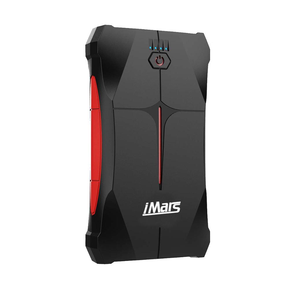 iMars Portable Авто Jump Starter 1000A 13800mAh Powerbank Emergency Батарея Бустер Водонепроницаемы с LED фонариком USB-порт