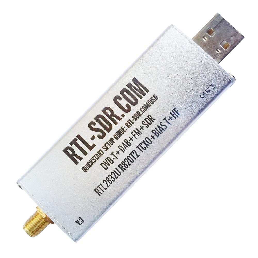 RTL-SDR Blog RTL SDR V3 R820T2 RTL2832U 1PPM TCXO SMA RTLSDR Software Receiver Defined Radio