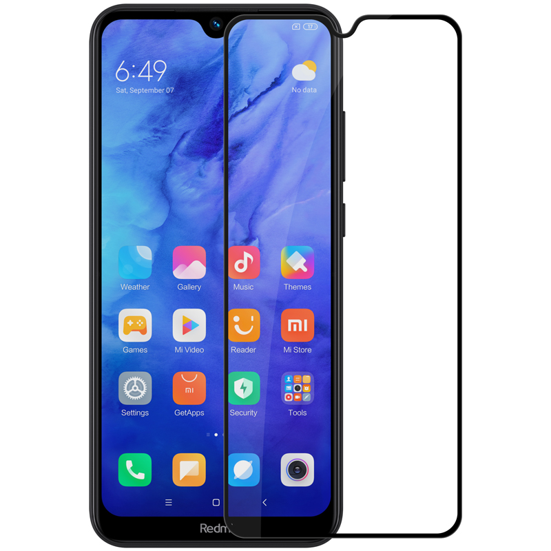 NILLKIN Amazing CP+PRO Anti-explosion Full Cover Full Glue Tempered Glass Screen Protector for Xiaomi Redmi Note 8T