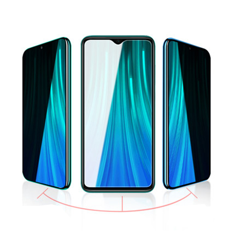 For Xiaomi Redmi Note 8 Pro Bakeey Anti-Peeping Privacy 9H Tempered Glass Screen Protector