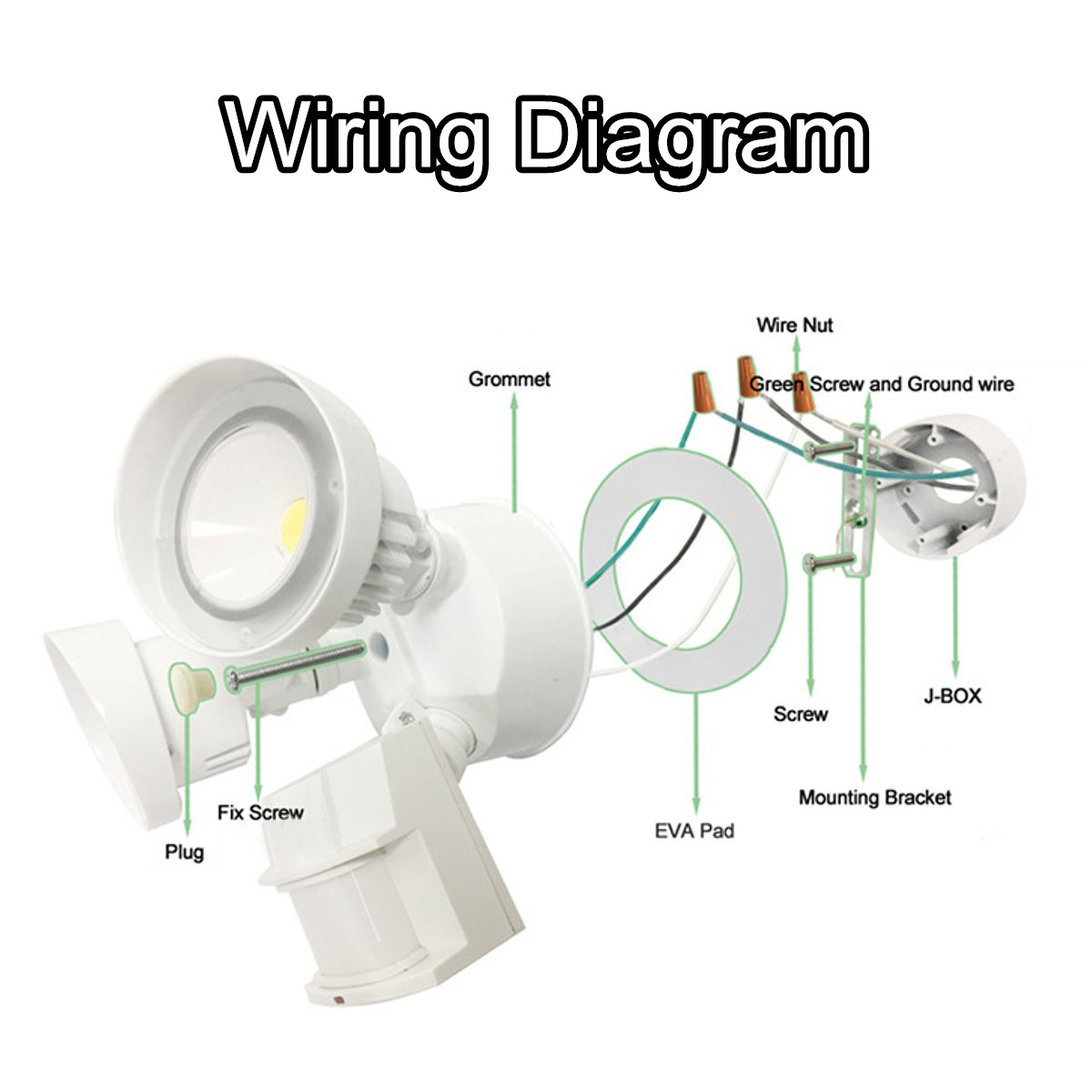 Wiring Diagram For Security Lighting