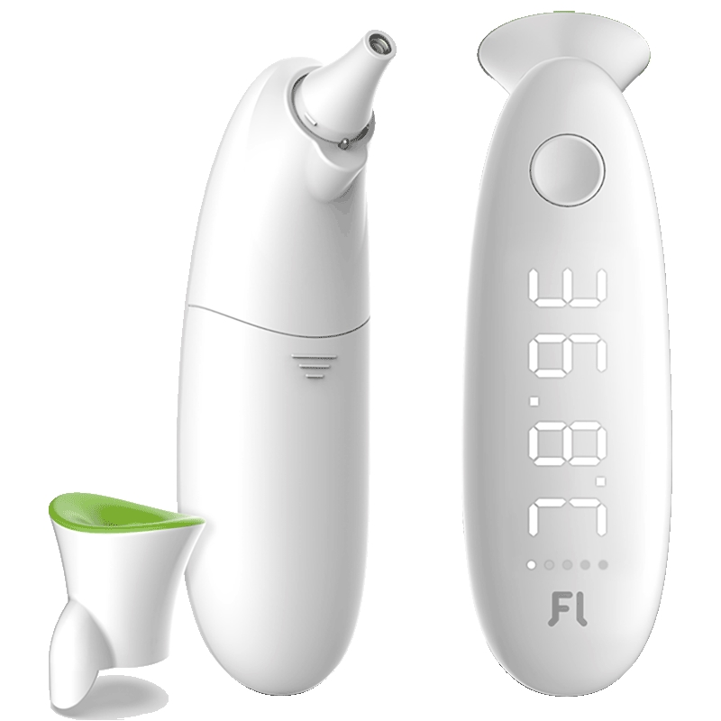 Купить со скидкой Fanmi Dual Use Smart Ear & Forehead Themometer LED Digital