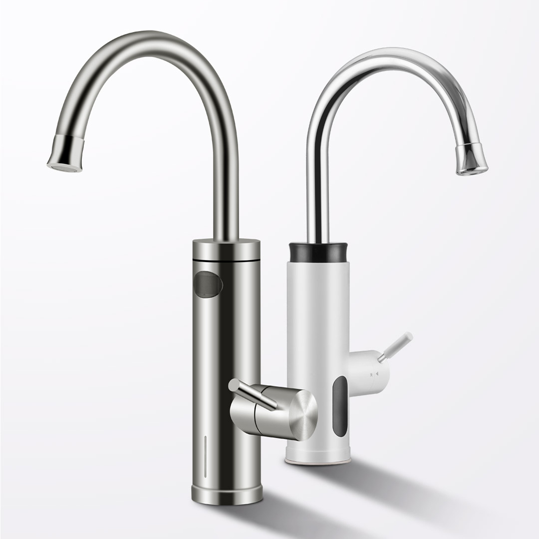 Smartda Basic/Updated Version 3000W/3400W Kitchen Sink Faucet Instant Water Heater 360° Rotation Hot Cold Mixer Tap Single Handle from Xiaomi Youpin