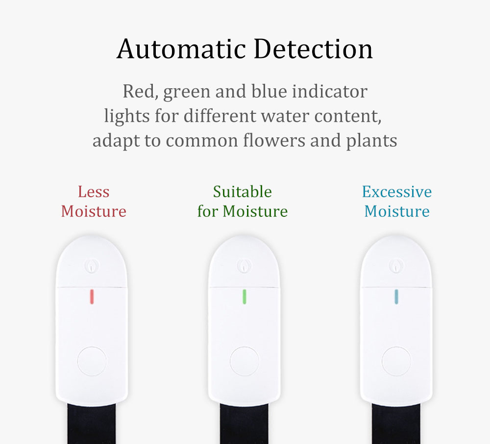 [Basic Version] Sothing Flora Garden Plants Soil Moisture Tester Indoor Greenhouse Flower Bonsai Moisture Monitor with Light Indicator from Xiaomi Youpin 12